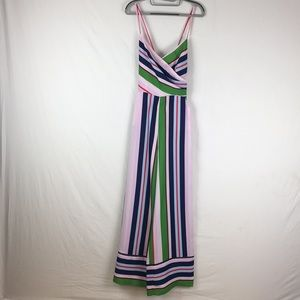 Ted Baker Canpala Bay Of Honour Striped Jumpsuit